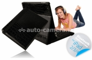 Чехол для iPad 3 и iPad 4 iFans Bluetooth Keyboard Case Croco, цвет black (BKB-IPD-01)