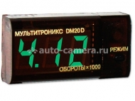 Тахометр+вольтметр Multitronics DM20
